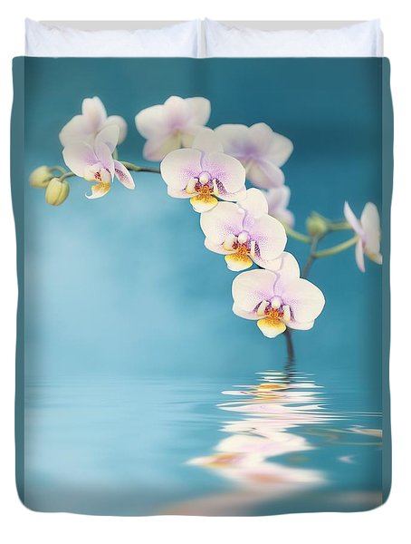 Orchid Dreams Duvet Cover