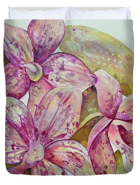 Orchid Envy Duvet Cover