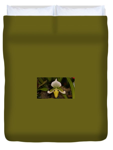 Orchid Flower 42 Duvet Cover
