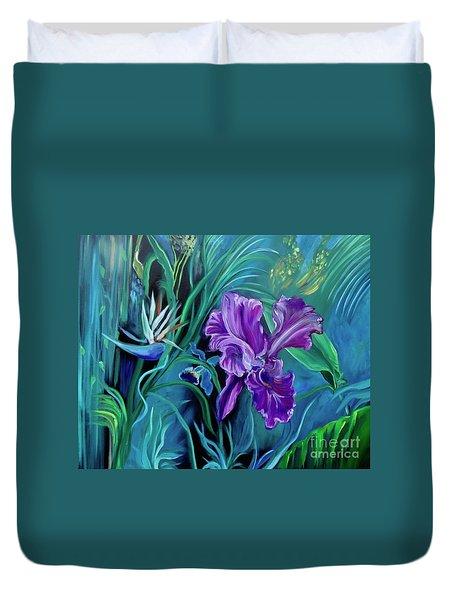 Orchid Jungle Duvet Cover
