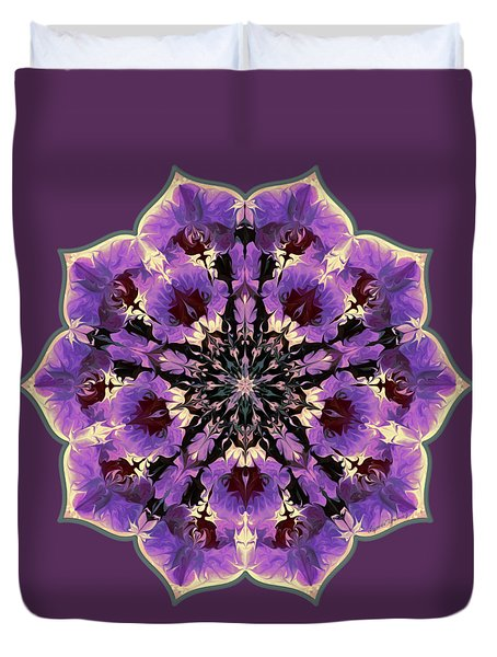 Orchid Lotus Duvet Cover