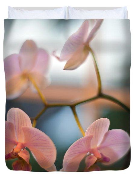 Orchid Menage Duvet Cover