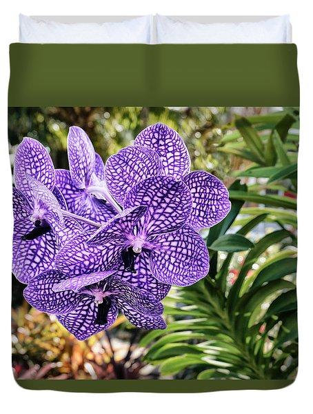 Orchid Paradise Duvet Cover