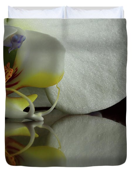 Orchid Reflected Duvet Cover