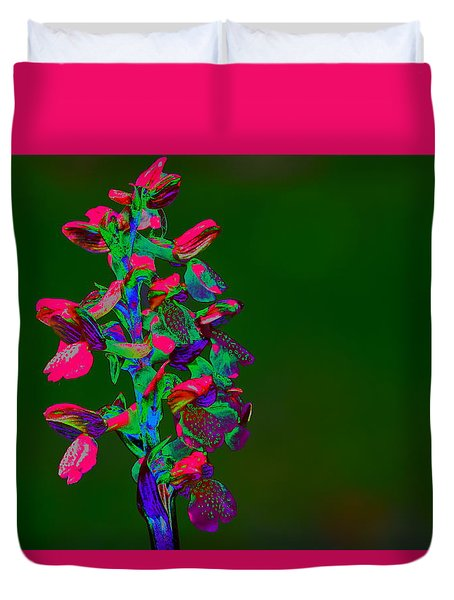 Orchid Duvet Cover by Richard Patmore