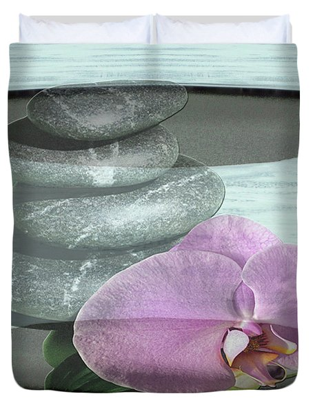 Orchid Tranquility Duvet Cover