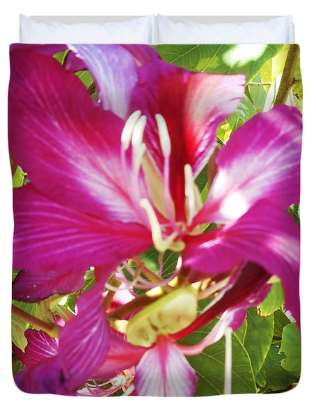 Orchid Tree 2 Duvet Cover