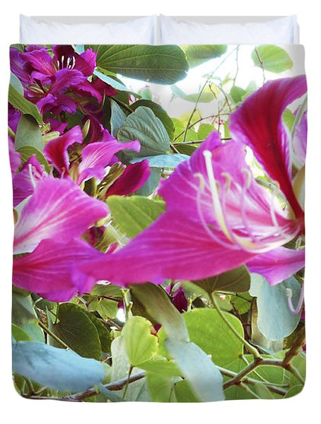 Orchid Tree 3 Duvet Cover