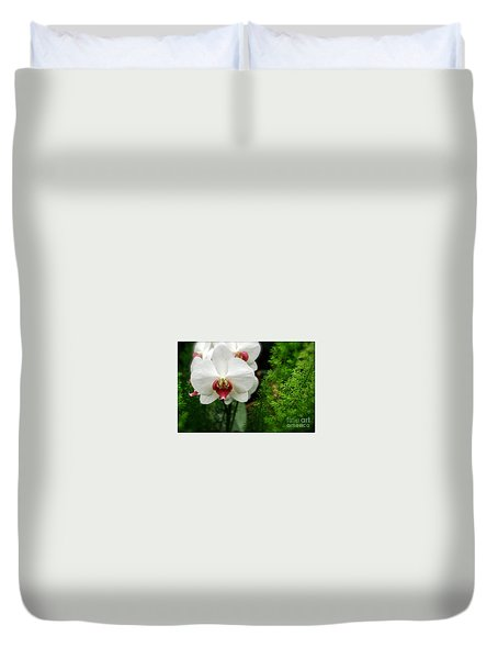 Orchid White Duvet Cover