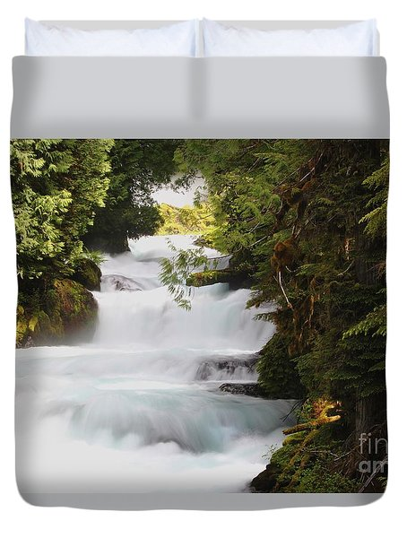 Oregon Cascade Duvet Cover