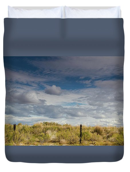 Oregon Clouds Duvet Cover