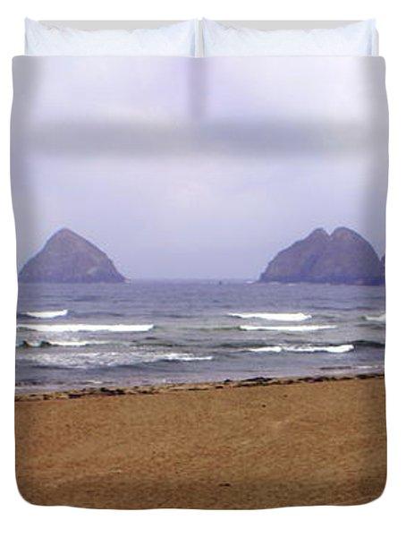 Oregon Coast 1 Duvet Cover by Marty Koch