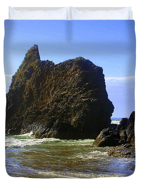 Oregon Coast 11 Duvet Cover by Marty Koch