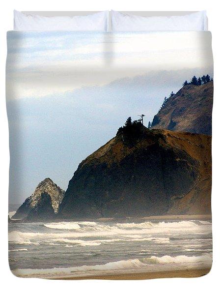 Oregon Coast 12 Duvet Cover by Marty Koch