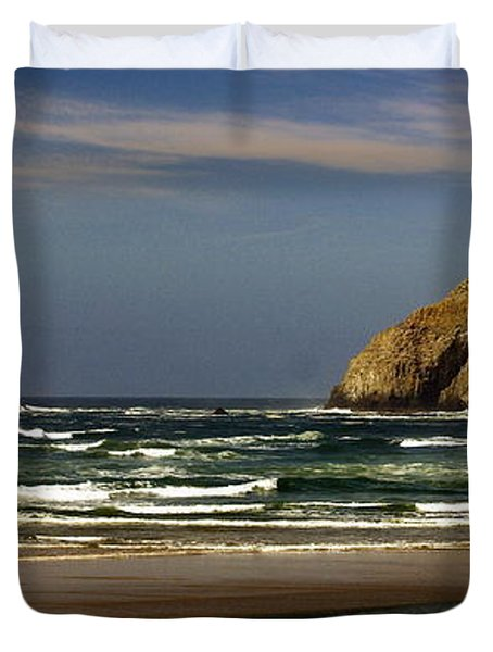 Oregon Coast 14 Duvet Cover by Marty Koch