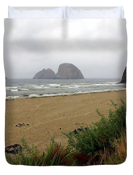 Oregon Coast 2 Duvet Cover by Marty Koch