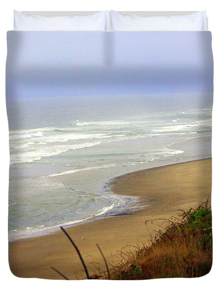 Oregon Coast 3 Duvet Cover by Marty Koch
