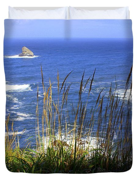 Oregon Coast 4 Duvet Cover by Marty Koch