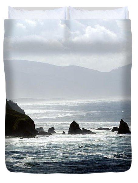 Oregon Coast 5 Duvet Cover by Marty Koch