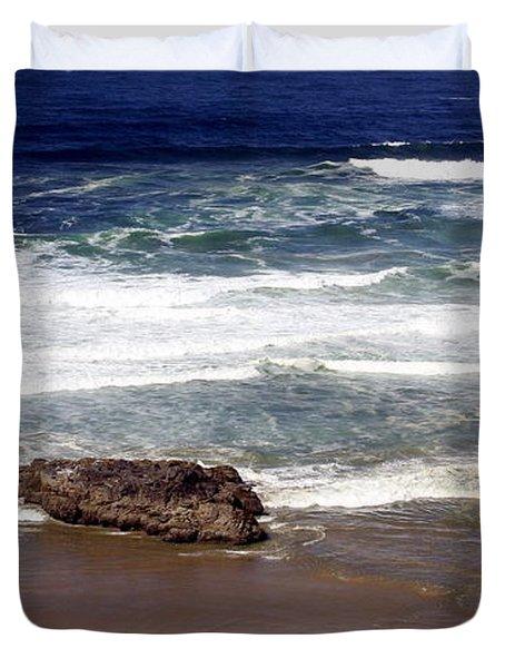 Oregon Coast 6 Duvet Cover by Marty Koch
