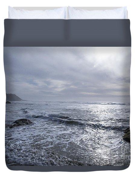 Oregon Coast Duvet Cover by Billie-Jo Miller