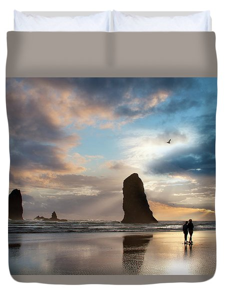 Oregon Coastine Duvet Cover