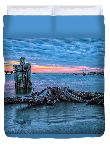 Oregon Inlet II Duvet Cover