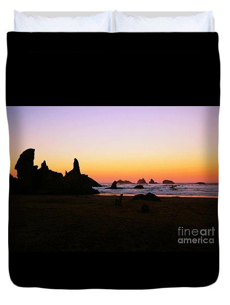 Oregon Sunrise Duvet Cover