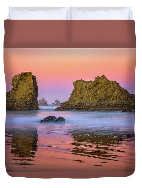 Oregon's New Day Duvet Cover by Darren White