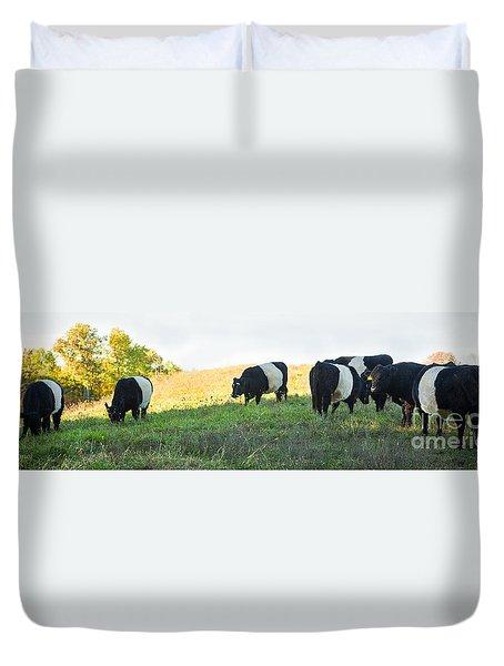 Oreos - Milk Included Duvet Cover by Carol Lynn Coronios