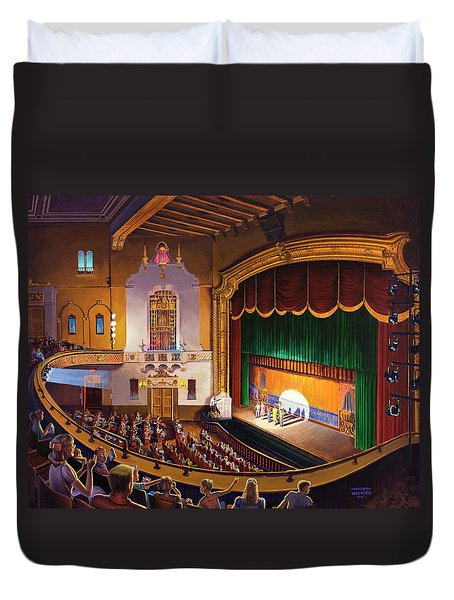 Organ Club - Jefferson Duvet Cover