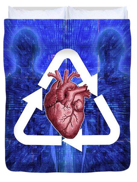 Organ Donation Duvet Cover