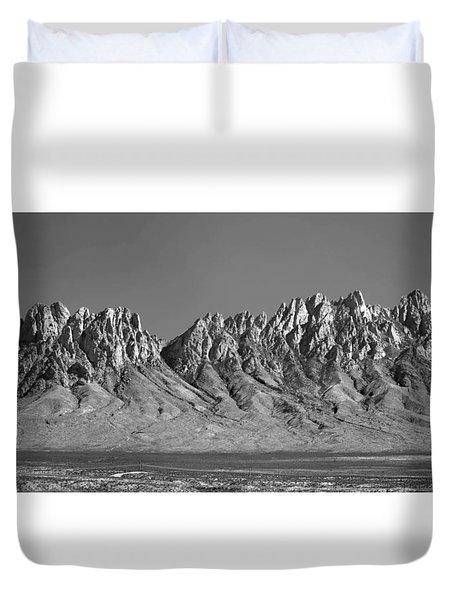 214878-organ Mountains Panorama     Duvet Cover