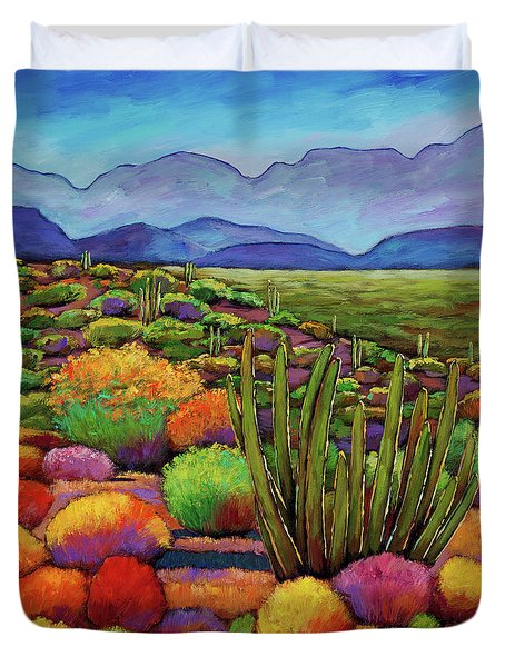 Organ Pipe Duvet Cover