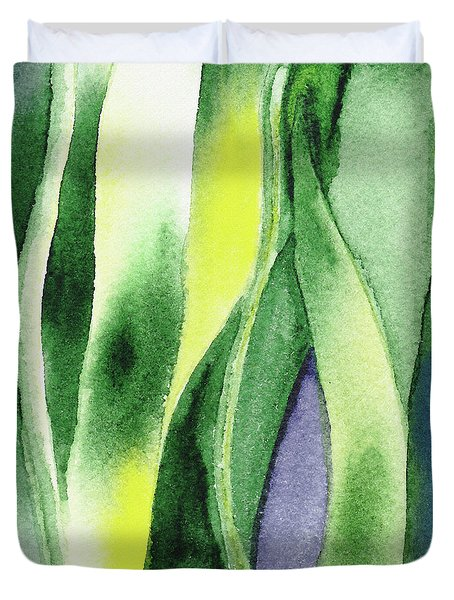 Organic Abstract By Nature I Duvet Cover