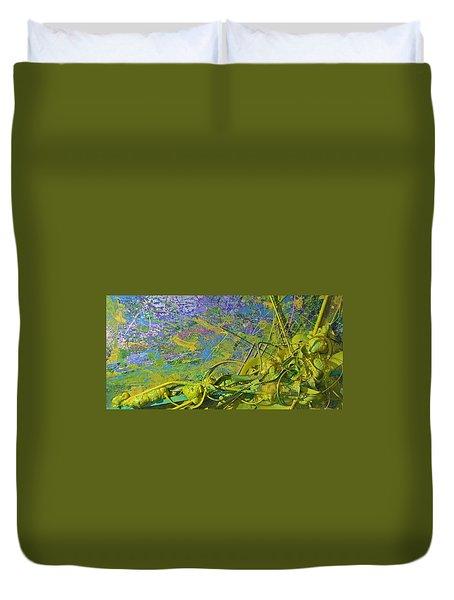 Organic Choas #3 Duvet Cover