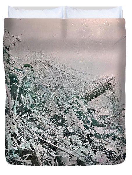 Organic Choas #4 Duvet Cover