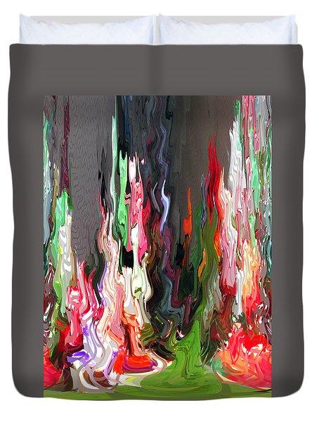 Organic Impressions 4 Duvet Cover by Cedric Hampton