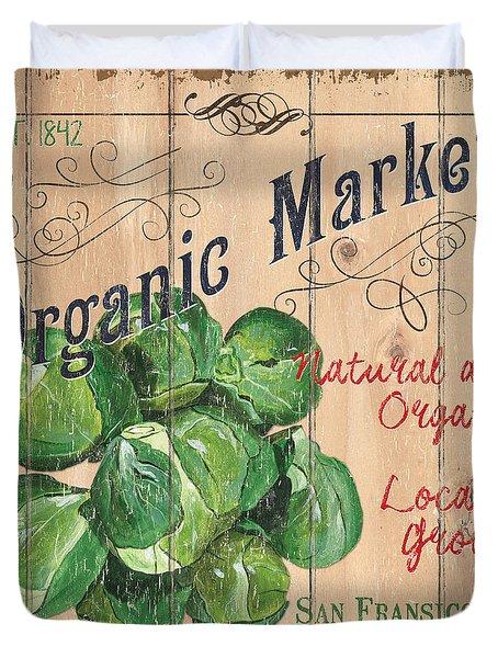 Organic Market Duvet Cover