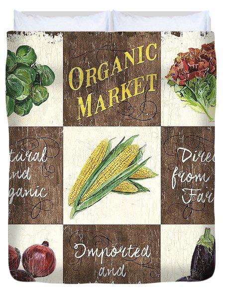 Organic Market Patch Duvet Cover