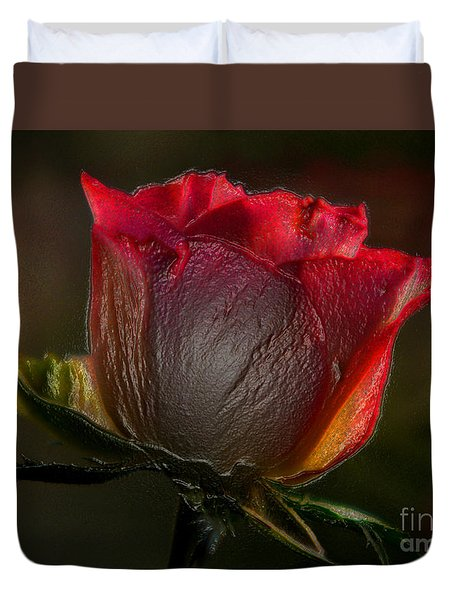 Organic Rose Duvet Cover