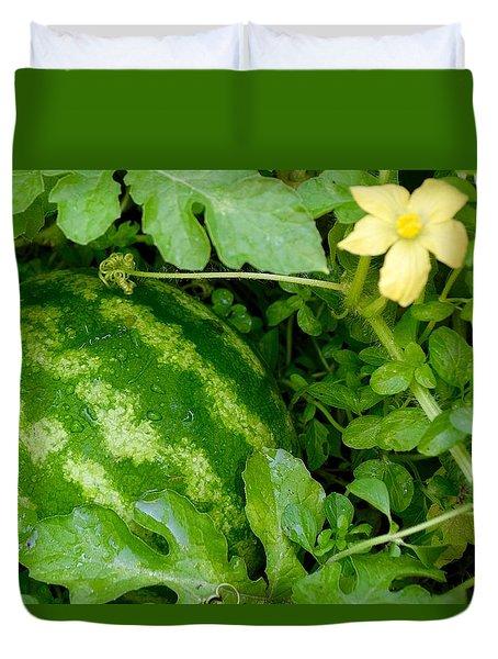 Organic Watermelon Duvet Cover