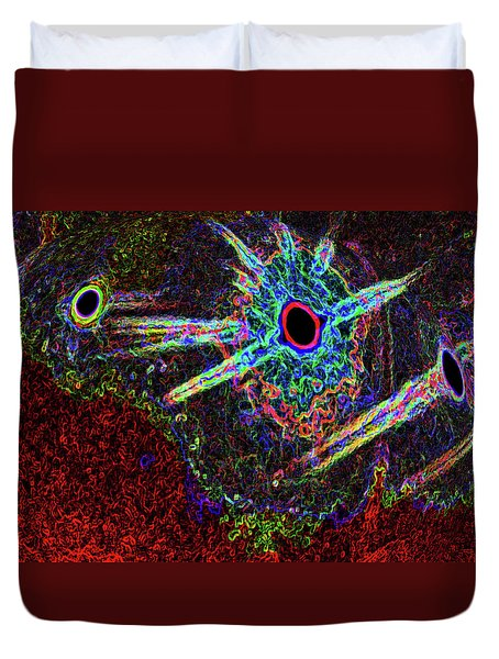 Organized Chaos 2 Duvet Cover by Bruce Iorio