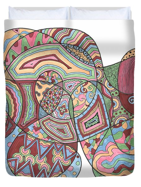 Organized Chaos Duvet Cover