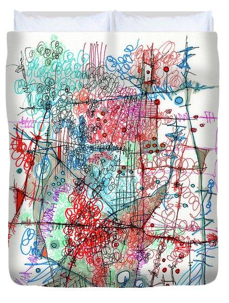 Organized Chaos Duvet Cover