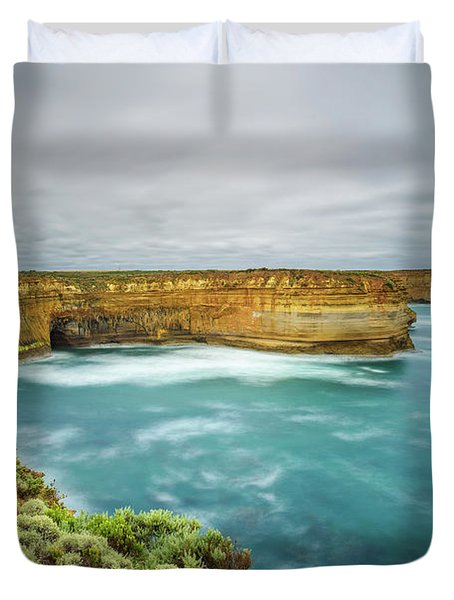 oria, Australia, near Port CampbellLoch Ard Gorge  in Vict Duvet Cover