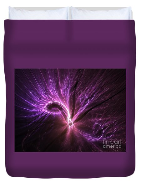 Duvet Cover featuring the digital art Orient Spice by Michal Dunaj