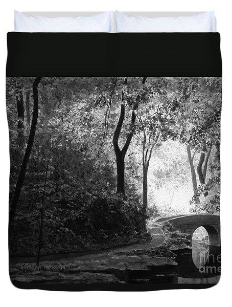 Oriental Garden Duvet Cover