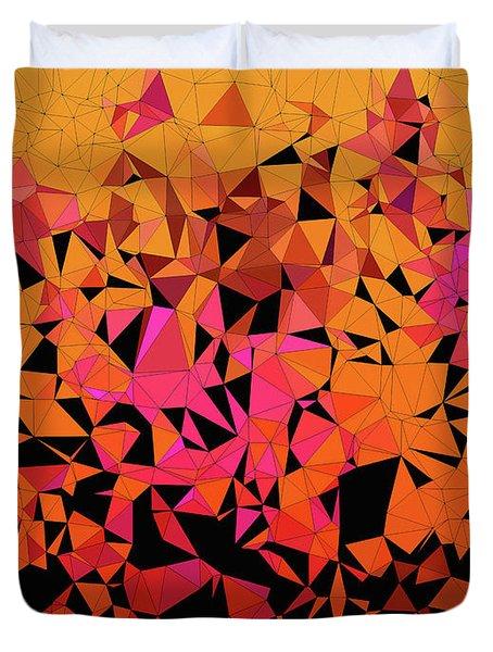 Origami Duvet Cover by Susan Maxwell Schmidt