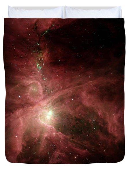 Orions Inner Beauty Duvet Cover by Stocktrek Images